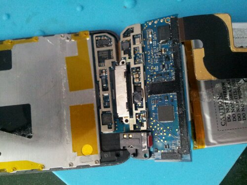 Ipod touch dock connector repair
