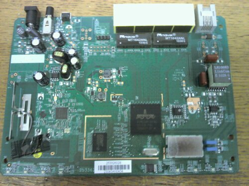 Latest Sky router mainboard