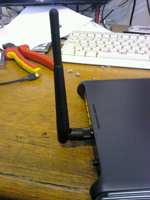 Latest Sky router new wireless antenna complete