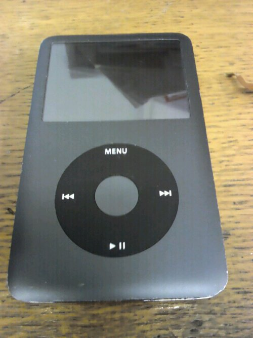 Water damaged iPod